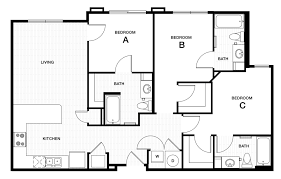 floor plan professional apartment floorplans douglas heights