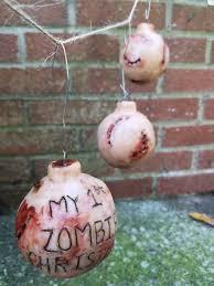 my 1st set of three creepy ornaments
