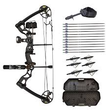 amazon com wizard archery 70 lbs 30 u0027 u0027 compound bow black