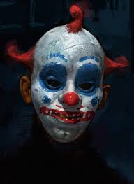 clowns 3d halloween horror nights john wayne gacy painting of his alter ego pogo the clown u0026 the