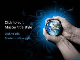 templates powerpoint earth earth ppt template