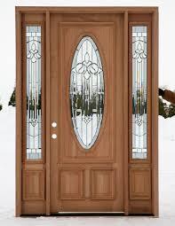 trendy modern wood exterior doors with glass panels for wood doors