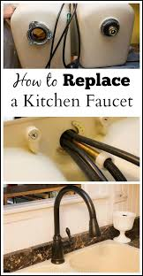How To Replace Kitchen Faucet How To Replace A Kitchen Faucet Martys Musings Jpg