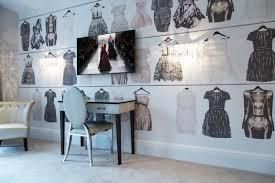 coiffeuse chambre ado design interieur deco chambre ado papier peint mode coiffeuse