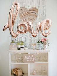 wedding backdrop font gold balloon bridal showers bridal