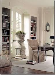 Classic Bookshelves - platsbyggda klassiska bokhyllor vitrindörrar glasdörrar