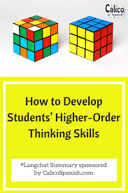 how to develop students u0027 higher order thinking skills from langchat