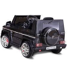 kids jeep wrangler costway rakuten costway mercedes benz g65 licensed 12v electric