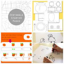 16 printable art activities kids encourage creativity