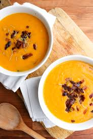 bacon and butternut squash soup