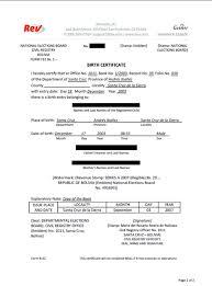 Birth Certificate Letter Sle Birth Certificate Guarantor Letter 28 Images Birth Certificate
