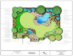Landscape Design Backyard by Professional Landscape Plan Software Pertaining To Landscaping