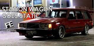 volvo wagon volvo 745 station wagon goes static youtube