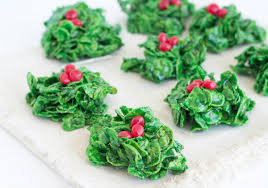 holly cookies recipe