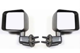 jeep wrangler door mirrors free shipping on rugged ridge wrangler jk door mirror kit