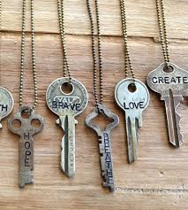 key necklace men images Vintage key necklace images jpg