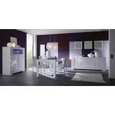 portes meuble cuisine salle à manger blanc laqué buffet 4 portes meuble haut 2 portes