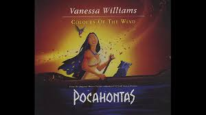 vanessa williams colors of the wind instrumental youtube
