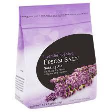 lavender scented epsom salt soaking aid 1 5 lb walmart com
