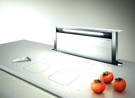 hottes de cuisine silencieuse hotte aspirante verticale cuisine hotte cuisine escamotable hotte