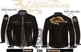desain jaket warna coklat desain almamater angkatan jurusan tep ub 2012 yooekspresi desain