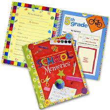 school days keepsake album the school days album a scrapbook of your child s school records