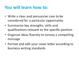 nevada career studio how to write a cover letter