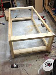 build a coffee table diy coffee table rustic x