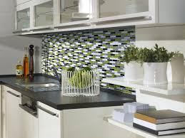 stick on backsplash tiles for kitchen how to install peel and stick tiles in a kitchen directly