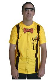classic yellow nerd t shirt