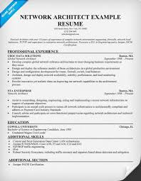 Enterprise Architect Resume Sample by Network Architect Resume Resumecompanion Com Resume Samples