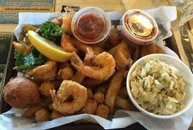 Capt Jacks Family Buffet Panama by Shrimp U0026 Scallops Basket J Michael U0027s Restaurant Panama City