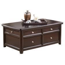 coffee tables mesmerizing zuo modern macho coffee table walnut