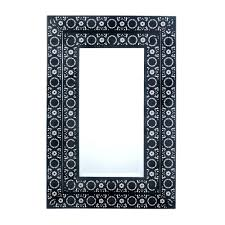 wall mirrors white wood frame mirror white wooden framed wall