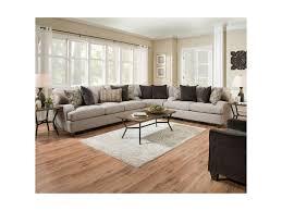 Upholstery Sectional Sofa Simmons Upholstery 4002 Transitional Sectional Sofa Royal