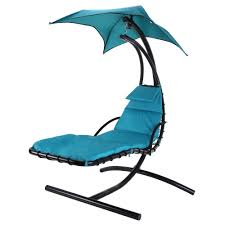 Hanging Chair Outdoor Furniture Amazon Com Palm Springs Outdoor Hanging Chair Recliner Swing Air