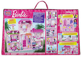 amazon com mega bloks barbie luxury mansion toys u0026 games