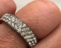engagement rings size 8 big ring etsy