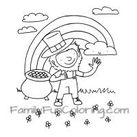 st patricks day coloring pages familyfuncoloring