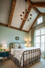 Wrought Iron And Wood Nightstands Wrought Iron Bed Frame Bedroom Farmhouse With Light Wood