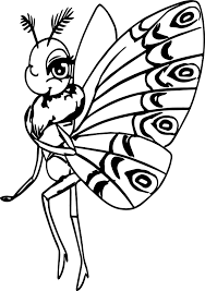 a bugs life butterfly coloring page wecoloringpage