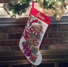 personalized needlepoint christmas christmas teddy christmas 33253fcwm1r img951g phenomenal