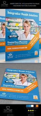 pharmacy brochure template free pharmacy flyer vol 2 by owpictures graphicriver