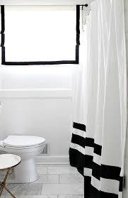 Black Bathroom Curtains Luxury Black And White Bathroom Window Curtains The Ignite Show