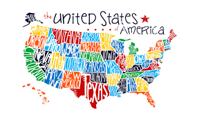 Us State Abbreviations Map United States Map With State Names Usa States On The Map Map Of