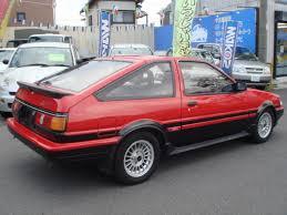 original toyota corolla toyota corolla levin ae86 gt 3d apex for sale car on track trading