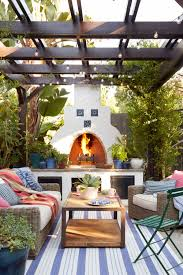 the 8 best spanish style outdoor fireplace on classic hacienda