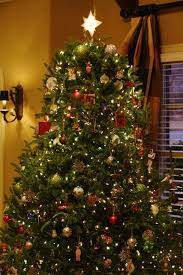How To Put Christmas Lights On Tree by Holiday Home Decor Tour Simply Organized