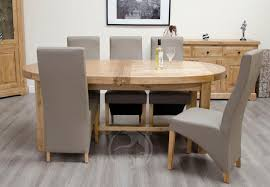 solid oak oval extending dining table with ideas design 7682 zenboa