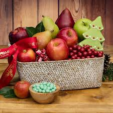 christmas fruit baskets joyful jubilee fruit basket the fruit company